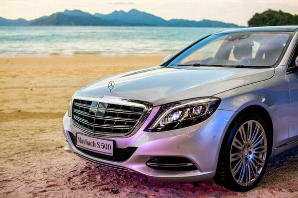 dòng xe oto Mercedes Maybach s500 2018 (3)