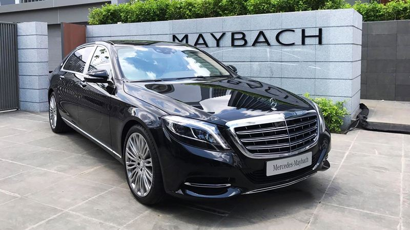 ngoai that Mercedes Maybach S500 2018