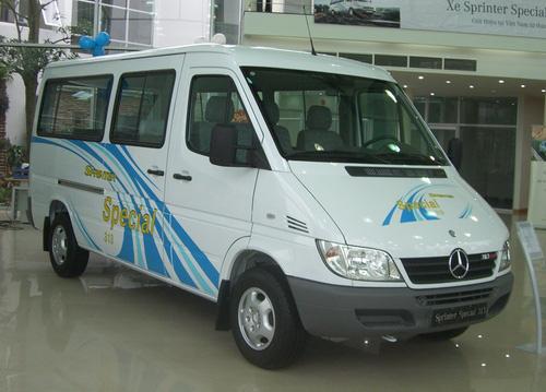 giá xe mercedes 16 chỗ đời 2005