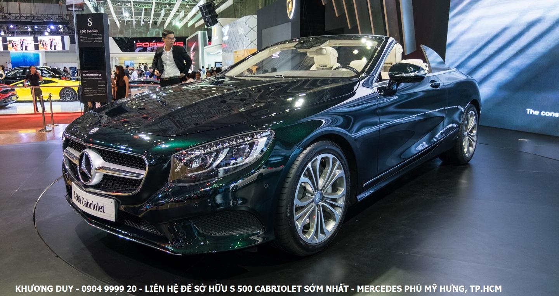 Mercedes s500 với vẻ ngoài thời thượng, cuốn hút